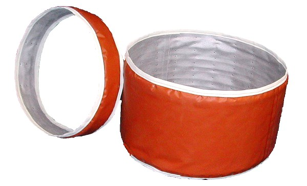 Insulated Flexduct Expansion Joint with Coil Spring Support
