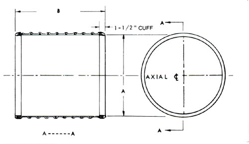 Flexduct - Non-Insulated Expansion Joint