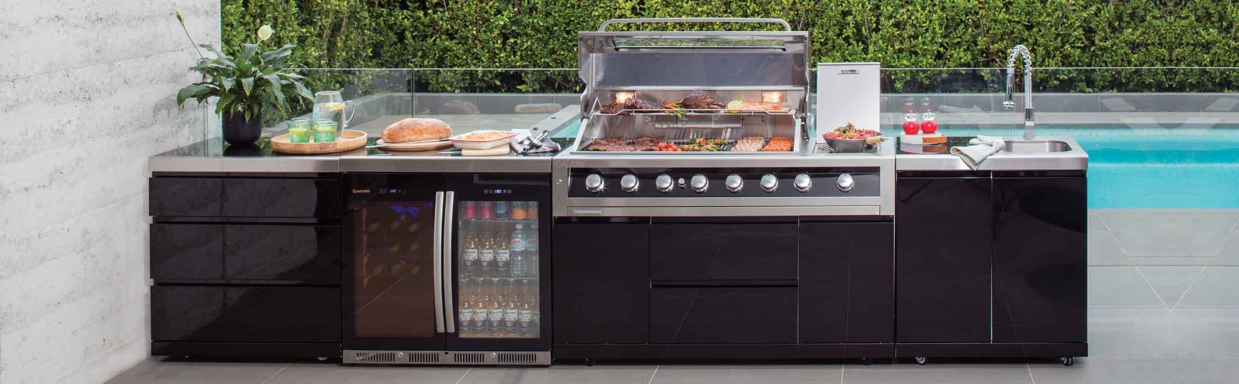 bbq kitchen cabinet organizing ideas outdoor kitchens range gasmate