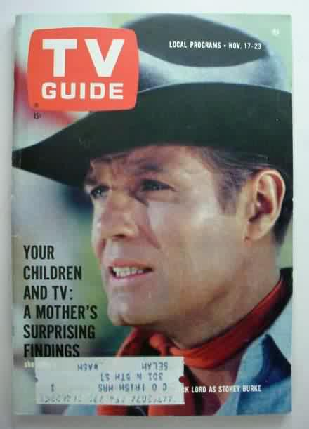 vintage original TV GUIDE magazines for sale from Gasoline Alley Antiques