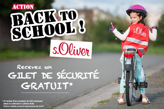 Action Back to school s.Oliver