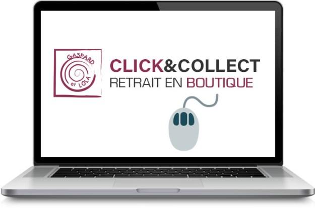 """Site de vente en ligne """"Click&Collect"""" Gaspard et Lola - Tournai"""