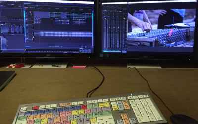 Working with film sound in Audition