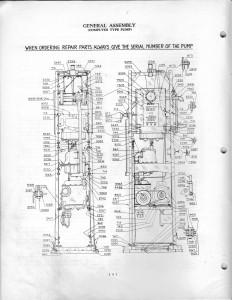 Tokheim 39 tall Gas Pump Parts | GasPumpsus Old Gas Pump