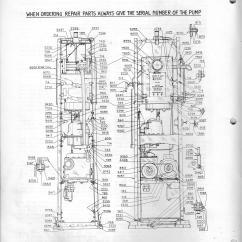 Pump Parts Diagram Five Senses Tokheim Gas Gaspumps Us Old