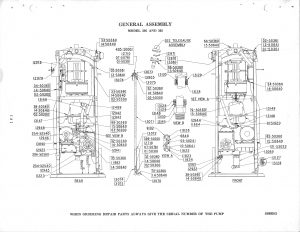 Tokheim 300, 305 Gas Pump Parts | GasPumpsus Old Gas Pump