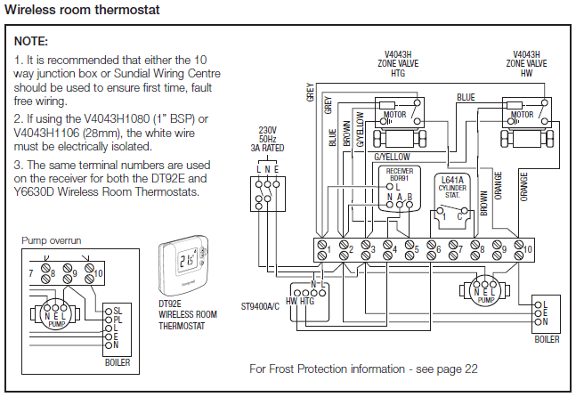Honeywell Sundial S Plan 2 honeywell central heating wiring diagram s plan boiler wiring diagram at edmiracle.co