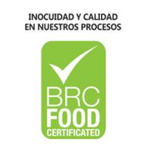 BRC Inocuidad alimentaria