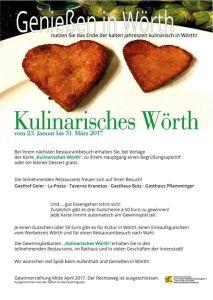 Kulinarisches Wörth @ Gasthaus Pflamminger | Wörth an der Donau | Bayern | Deutschland