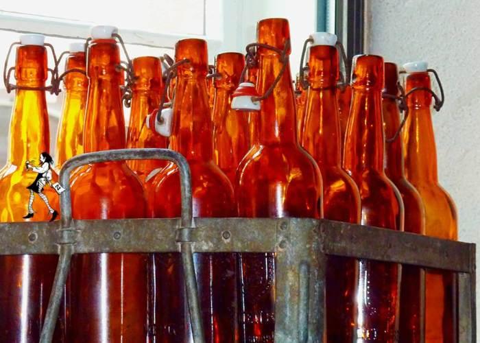 Restaurant Gasthaus Zahm - die Marktwirtschaft: Flaschenbiere