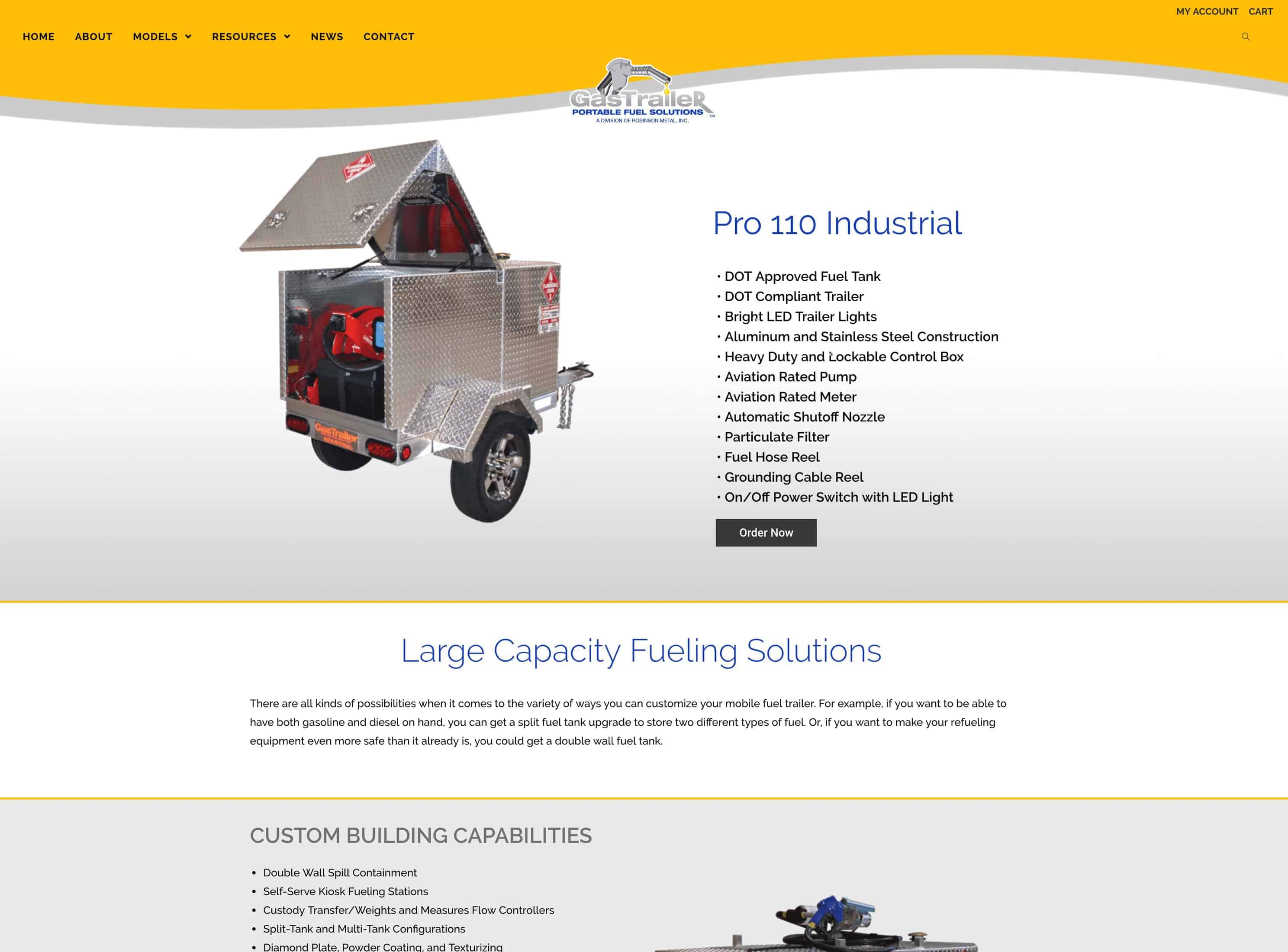 You are currently viewing Gas Trailer launches updated e-commerce website