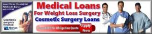medical loans for gastric band