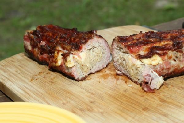 Auf dem Grill: German Baconbomb