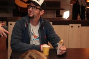 Chef Martin Koslik schmeckt es auch im Taco Taco Leipzig