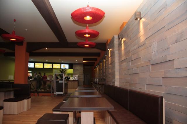 Restaurantbereich im Taco Taco Leipzig