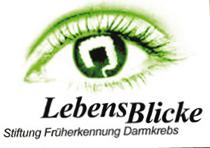 Logo Stiftung Lebensblicke Darmkrebsmonat März 2017