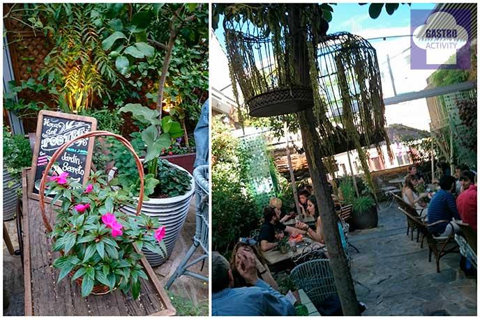 El jard n secreto de salvador bachiller terraza en sol for Jardin secreto salvador bachiller