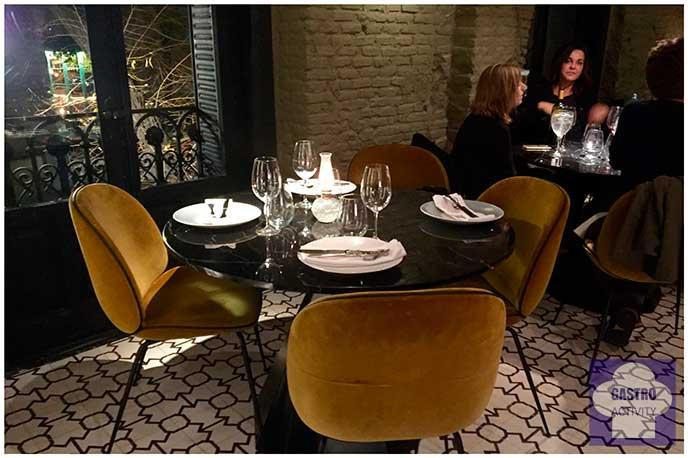 comedor Restaurante Random Madrid