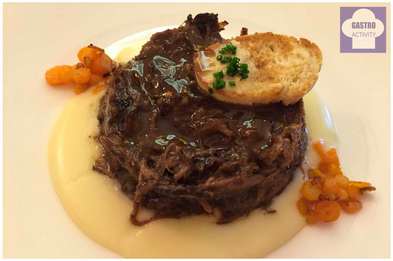 Rabo de toro estofado y deshuesado Restaurante La Era Madrid
