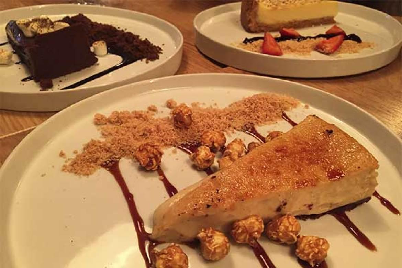 Tartas Chocolover Platanobrulee Lemonpie restaurante Kuoco 360 Food