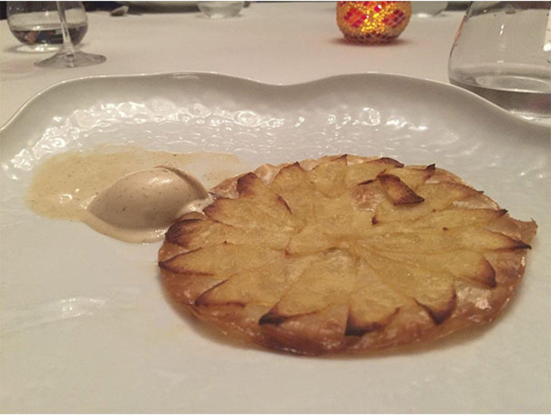 Tarta de manzana Restaurante Arrayan Madrid