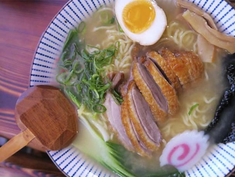 Ramen de pato Ramen Shifu restaurante japones