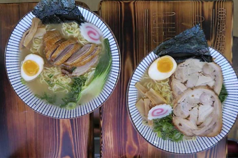 Ramen Shifu restaurante japones ramen de pato y Tonkontsu ramen