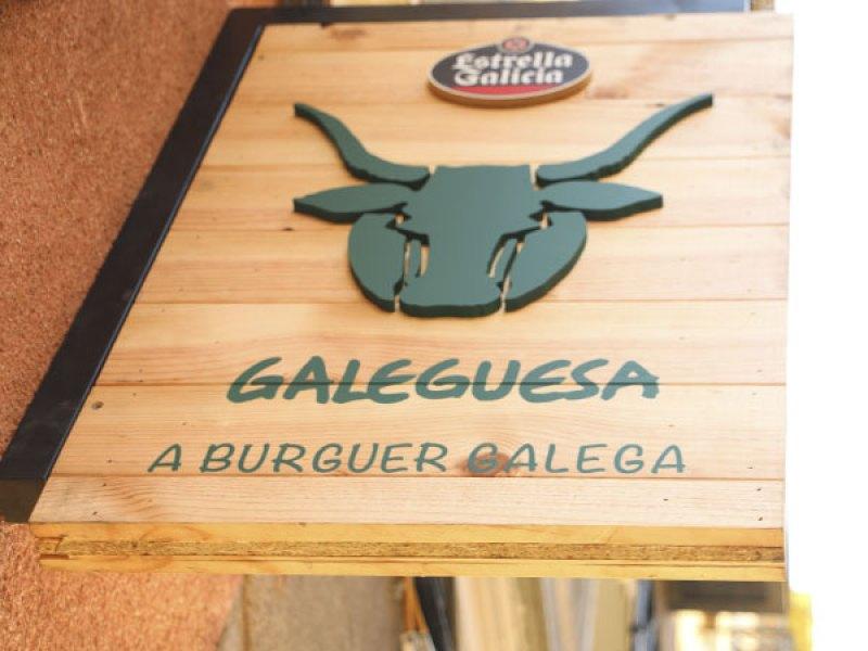 Galeguesa hamburguesa gallega
