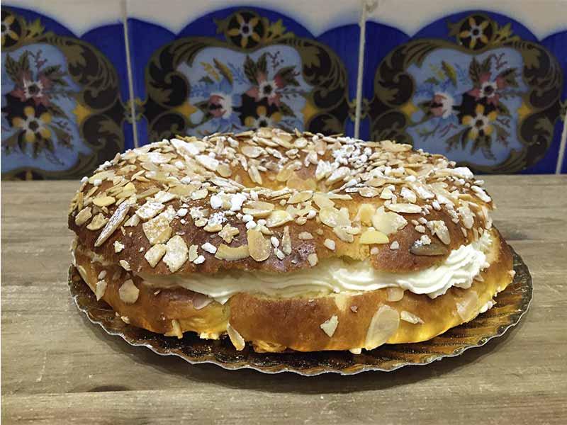 Roscon de La Panotheca Los mejores roscones de Madrid en 2017