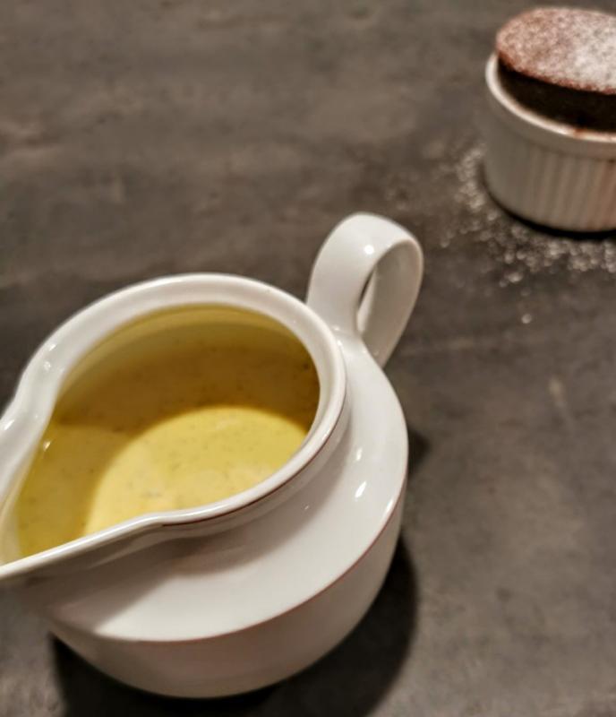 Creme anglaise - vaniljesovs