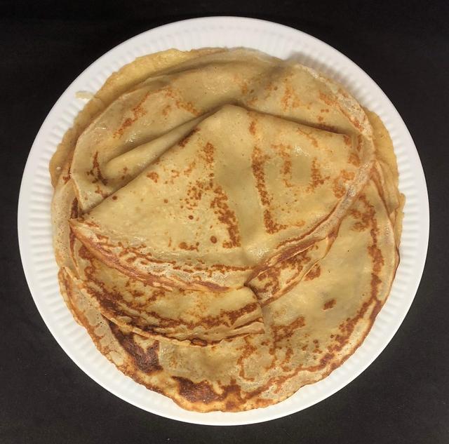 Dessert pandekager