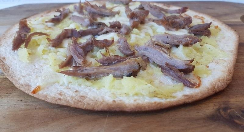 Tortillas pizza