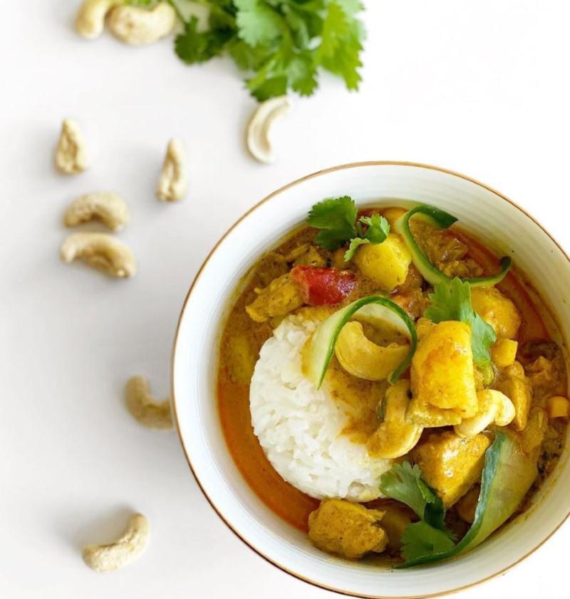 Thai Chicken Potato Curry