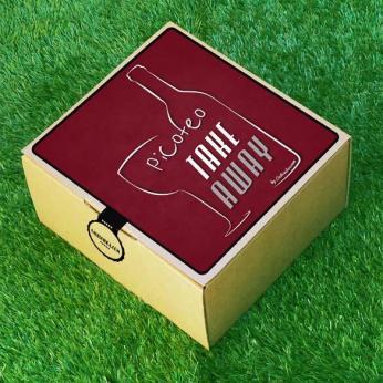 Pack Picoteo Take Away, picnic con vino rioja, queso y paté gourmet - Regalos originales gourmet Gastroidea.com
