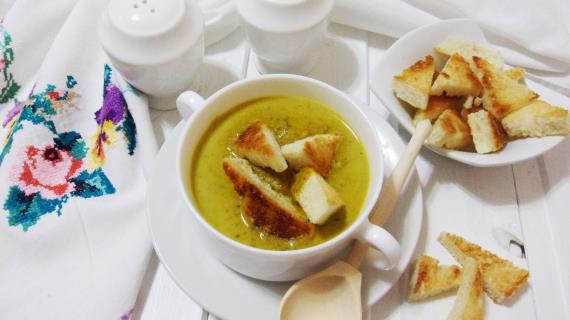 Lentil puree soup