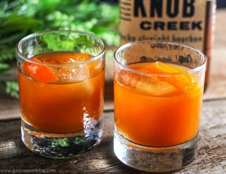 Tangerine-Basil-A-Bourbon-Cocktail
