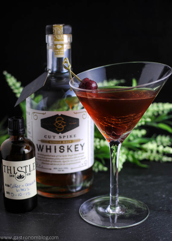 Brandied Chocolate Manhattan