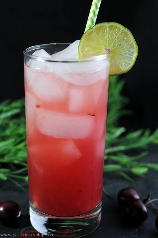 Ginger Cherry Smash