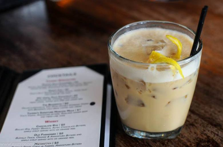 The Beansmith - A coffee and lemoncello cocktail at the Tavern Omaha.