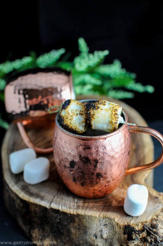 The Campfire Mule - A Moscow Mule Cocktail