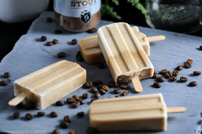 Creamy, coffee and Coffee Vanilla Stout combine to make these delicious beersicles