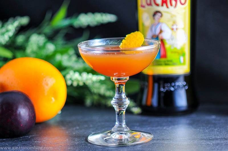 The Lucky Lucano - A Bourbon and Amaro Cocktail