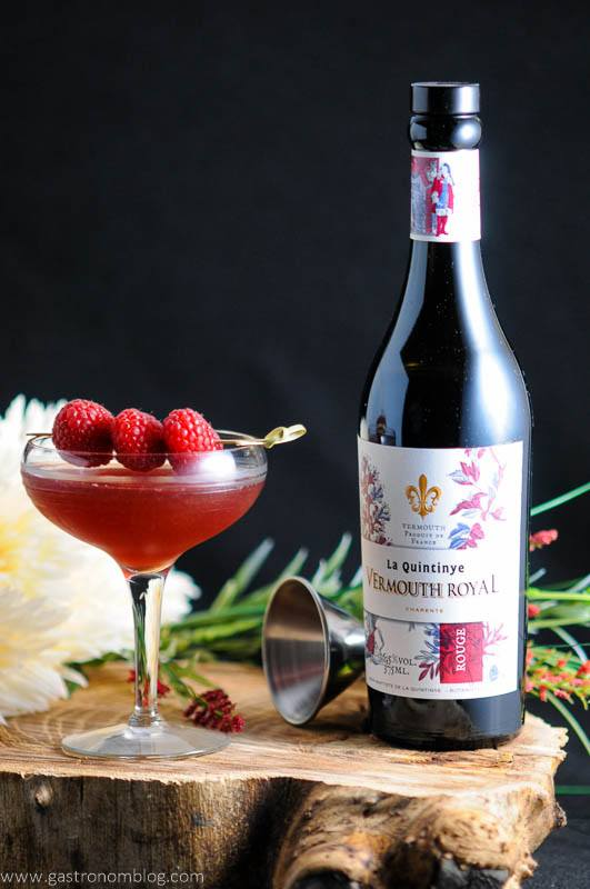 Royal Raspberry - A Raspberry Manhattan Cocktail