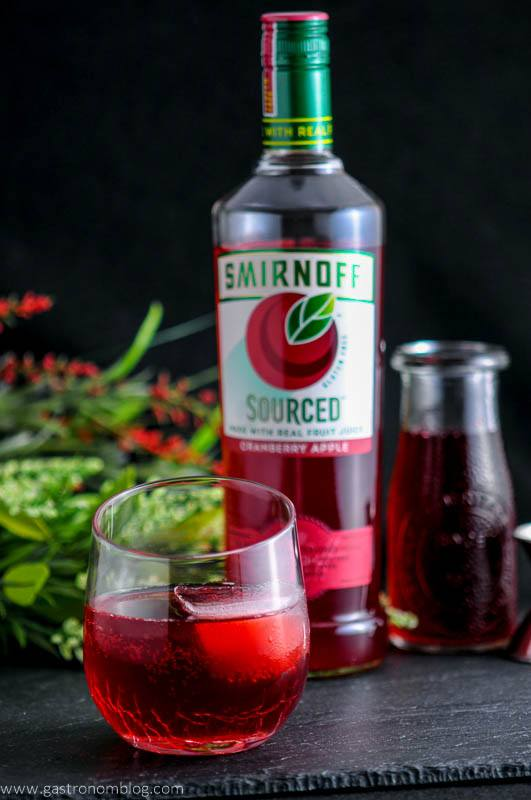 The cranberry sweet and sour vodka cocktail for Cranberry bitters cocktail recipe