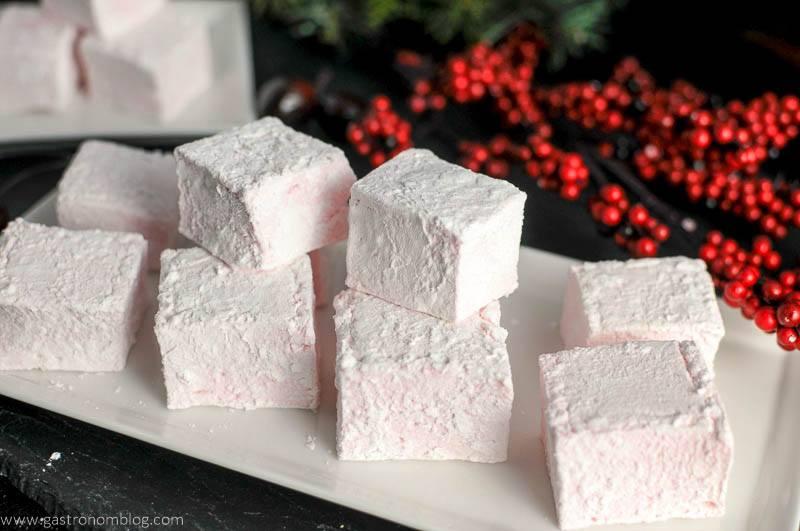 Cherry Amaretto Boozy Marshmallows