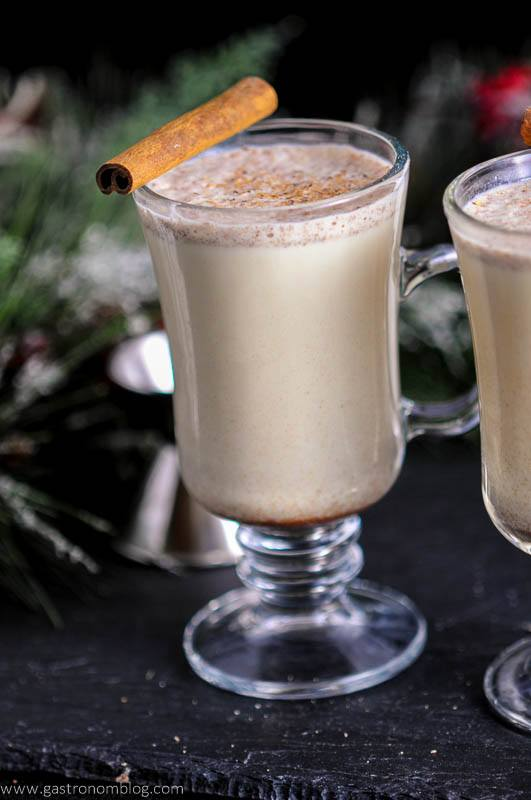 Salted Butterscotch Bourbon Eggnog