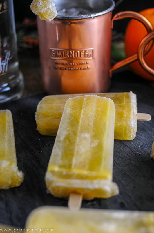 Sunrise Over Moscow Mule and Popsicle with Smirnoff Vodka