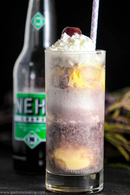 The Adult Purple Cow – A Vodka and Nehi Grape Soda Float