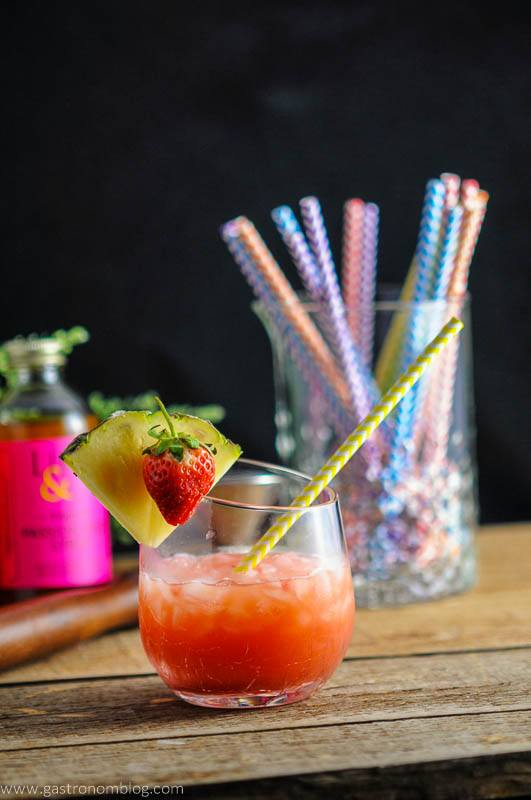 The Nene Bird - A Rum and Campari Cocktail