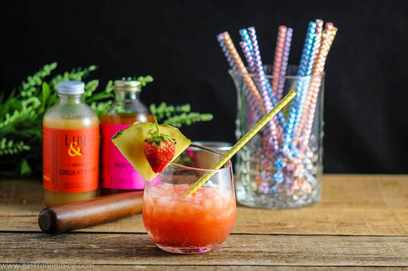 The Nene Bird - A Rum and Campari Cocktail